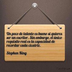 Para #escritores Stephen King