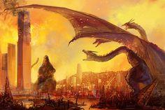 More Godzilla 2014 concept art Japanese Monster Movies, Giant Monster Movies, All Godzilla Monsters, Cool Monsters, King Kong, Godzilla Vs King Ghidorah, Titanic, Anime Manga, Simple