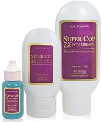 Super Cop 2X Extra Strength - Effective Copper-Peptide for Reducing the Appearance of Scars and Skin Damage; Buy or Shop our Copper Peptides