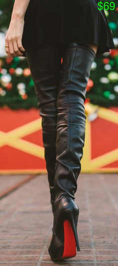 Christian Louboutin Gazolina Boots. I so want a pair of theses stunning boots (-:smile:-)