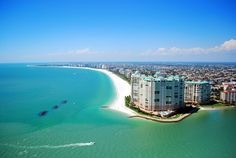 Go for a helicopter tour. View of South Beach. Can't get much farther south than Marco Island Beach while still staying in the US! (Marco beach rental http://www.vrbo.com/584705)