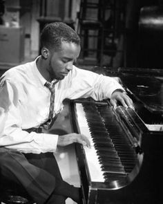 The young Ahmad Jamal