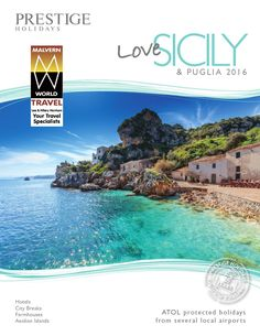 Sicily brochure 2016 mwt Holidays to Sicily with Prestige will be among the most memorable you will ever take. We are the industry specialist when it comes to Sicily holidays and we offer great value hotels as well as luxury hotels. Sicily has a wonderful climate, friendly people, superb food and wine, beautiful beaches, stunning landscapes and a heady mix of cultural attractions. There really is something for everyone – superb Sicily has it all! to book contact Malvern World Travel on…