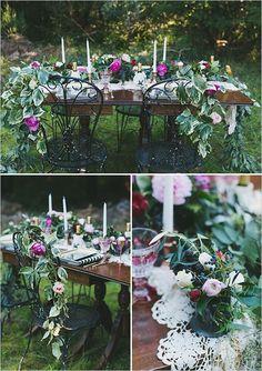 Free Spirit Garden Wedding