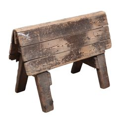 Rustic Saddle Rack | From a unique collection of antique and modern more antique and vintage finds at https://www.1stdibs.com/furniture/more-furniture-collectibles/more-antique-vintage-finds/