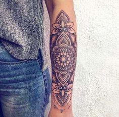 Dream Tattoos, Cute Tattoos, Beautiful Tattoos, Body Art Tattoos, Tattoo Drawings, Sleeve Tattoos, Maori Tattoos, Tatoos, Forearm Mandala Tattoo