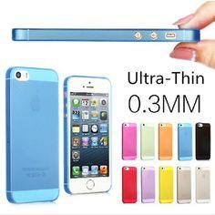 5 Pièces Ultra mince 0.3mm matte peau de couverture de cas pour l iPhone 6Plus