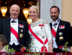 Royal Family Around the World: King Harald and Queen Sonja of Norway Celebrate Their 80th Birthdays Day-1 With A Glittering Banquet in Oslo, Norway on May 9, 2017