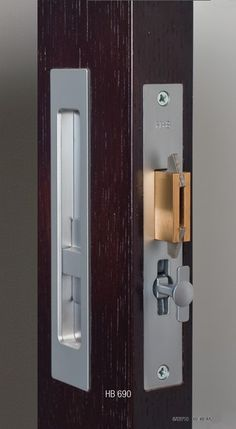 Exceptionnel Pocket Door Lock And Handle