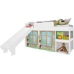 Americanas Cama Infantil Playground Meu Fofinho Branco - Art in Móveis - R$359,91