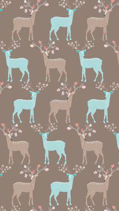 4 Wallpaper, Cute Wallpaper For Phone, Animal Wallpaper, Computer Wallpaper, Cellphone Wallpaper, Pattern Wallpaper, Wallpaper Backgrounds, Winter Christmas Scenes, Christmas Art