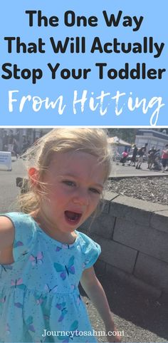 How to Stop A Toddler From Hitting – Works Within 2 Weeks The one way that will actually stop your toddler from hitting. A fool-proof way to help with parenting toddlers and stop the. Toddler Behavior Problems, Behavior Chart Toddler, Toddler Discipline, Child Behavior, Positive Discipline, Parenting Toddlers, Parenting Hacks, Parenting Classes, Parenting Articles