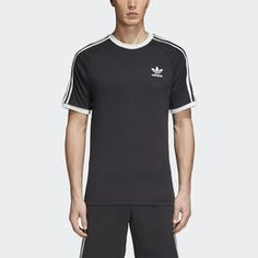 adidas Originals California T-Shirt - Men's Blue Adidas, Adidas Men, Black And White Man, Mens Activewear, Adidas Originals Mens, Sport T Shirt, Striped Tee, Mens Tees, Sport Outfits