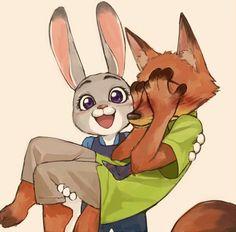 Imagen de love, zootopia, and nickudy