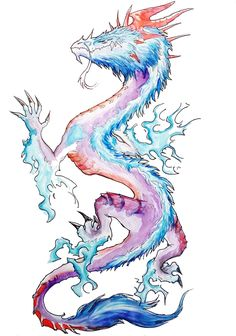 American Traditional Dragon Tattoo Flash Design : dragon tattoo by Dragon Tattoo Flash, Dragon Tattoo Drawing, Small Dragon Tattoos, Dragon Tattoo For Women, Tattoo Drawings, Tattoo Art, Heart Tattoo Designs, Dragon Tattoo Designs, Tattoo Designs For Women