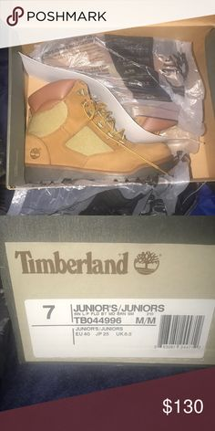 095e46125af Shop Kids  Timberland Orange size Boots at a discounted price at Poshmark.  Description  brand new !