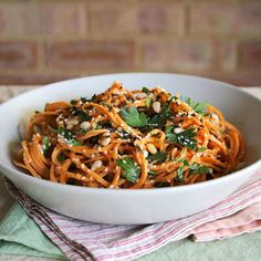 Spiralizer Recipes: Carrot Pasta - Fitnessmagazine.com