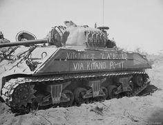 M4 Sherman 'Night Mare II' on Iwo Jima, March 12, 1945