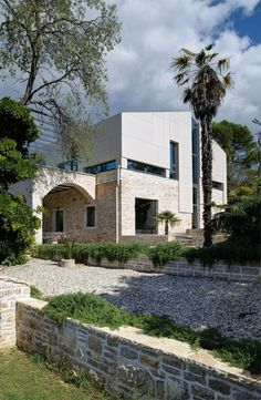 A Modern Reconstruction Of An Old Stone House Pula 2014