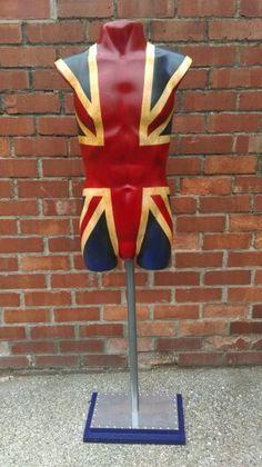 Mannequin torso - Union Jack