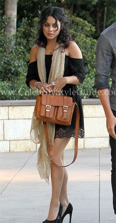 Vanessa Hudgens wore the playful and flirty Heartloom Marion Dress heading to a party in Studio City, June 17, 2012