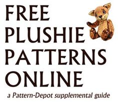Free Plushie Patterns Online plushie pattern, sew, craft, patterns, doll, softi, free plushie, pattern onlin, plushi pattern