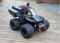 IBIFTKH's Wild Willy 2 (WR-02) custom build. Inspired by Tamiya Mini 4WD 1/32th scale, Wild Saurus