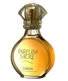 """Parfum Sacre by Caron is an Oriental Spicy fragrance that Fragrantica states, """"Captures notes from all fragrance categories in one scent... an unprecedented accord of flowers and spices...""""  It's top notes are cardamom, cinnamon, pepper, and mimosa.  Heart notes are jasmine, rose, orange, and clove.  Base notes are musk, vanilla and myrrh. <3<3<3"""