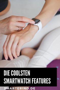 Der Funktionsumfang einer Smartwatch erweitert sich stetig. Wir stellen Dir die wichtigsten Funktionen vor. Nachrichten, Anrufe, Fitness, Terminplanung, bargeldloses Zahlen und Smarter Assistent sind nur ein kleiner Teil des Funktionsumfangs einer Smartwatch (Smart Watch). Fine das richtige Modell für dich. Egal ob Apple, Samsung, Garmin oder Fitbit. Wir haben uns alle Modelle angeschaut und stellen dir unsere Testsieger vor. Smartwatch Features, Smart Watch, Fitbit, Essentials, Samsung, Skin Care, Fitness, Numbers, Don't Care