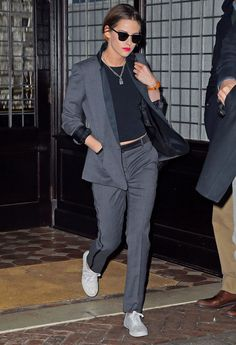 Kristen Stewart, not a big fan BUT her style is pretty cool.