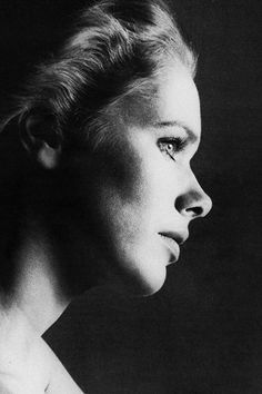 Liv Ullmann (1948) - Norwegian actress and film director. Photo by Richard Avedon, 1973