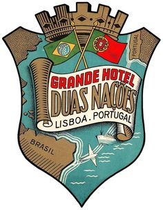 GRANDE HOTEL DUAS NACOES  ~ LISBON, Portugal