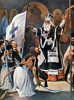 Greek Independence, Albanian Culture, Greece History, Greek Warrior, Faith In Love, In Ancient Times, Eastern Europe, Coat Of Arms, Revolution