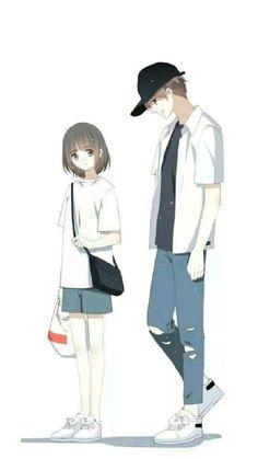 Anime Cupples, Chica Anime Manga, Kawaii Anime, Anime Love Story, Manga Love, Manga Couple, Anime Love Couple, Anime Couples Drawings, Anime Couples Manga
