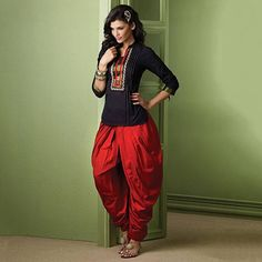 Know The Difference: Patiala Salwar Vs. Dhoti Salwar | Fashion Tips - Indiarush