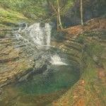 The Devil's Bathtub is pretty tough to get to, but once you're there, climb on in!  5 Hidden Outdoor Gems in Virginia #vaoutdoors