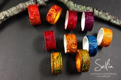 free photo tutorial for these rings from Ludmila Bakulina of Selfia