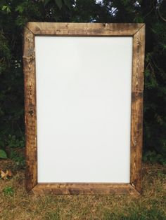 Rustic Dry Erase Board Whiteboard By Thefarmhousefinds