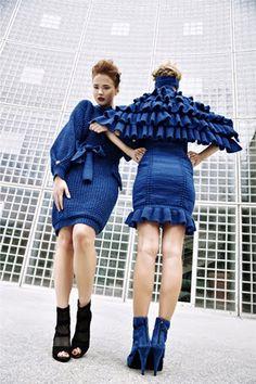 Last Minute capsule knitwear collection Elizabeth Zsoka Majzik by JOKKAdesign Womens Flats, Men Dress, Knitwear, Men Casual, Knit Picks, Knitting Ideas, Sneakers, Fabric, Fashion Design
