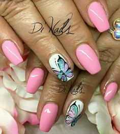 #Pink #Butterfly