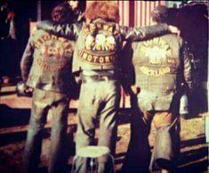 Highway 61 mc Biker Clubs, Motorcycle Clubs, Biker Gangs, Biker Quotes, Gangsters, Cut And Color, New Zealand, Detroit, Harley Davidson