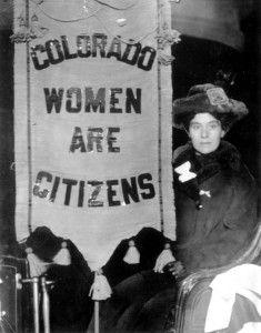 Colorado Women and Voting
