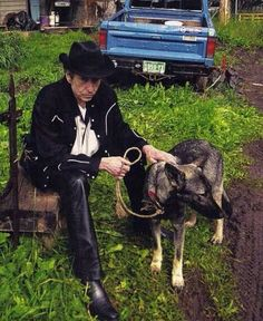 Bob, a dog and some mud.
