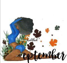 Black Girl Art, Black Women Art, Art Girl, Black Art Pictures, Cartoon Quotes, Art Of Beauty, New Month, Sticker Ideas, Lesson Quotes