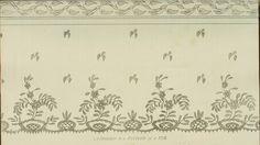 Riscos de bordados antigos (1811 a 1815)  Link:  http://www.ekduncan.com/2011/10/regency-era-needlework-patterns-from.html  EKDuncan - My Fanciful Muse: Regency Era Needlework Patterns from Ackermann's Repository 1811-1815