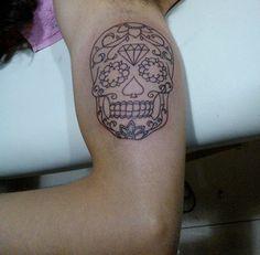 #tattoo #mexicanskull