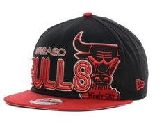 d7bc6d3bf8e Chicago Bulls New Era NBA Hardwood Classics Open Court 9FIFTY Snapback Cap  Hats Chicago Bulls
