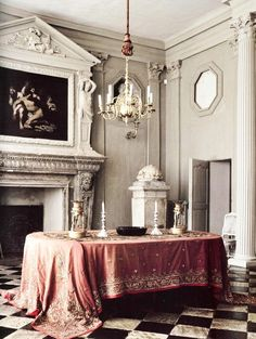 "Paris Apartment of Joseph Achkar and Michel Charriere. Image from the book ""Parisian Interiors"""