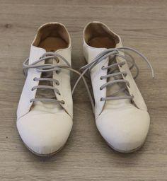 rundholz - Schuhe Boxer Style Textile mit Gummiband sahne - Sommer 2015 - stilecht - mode für frauen mit format...