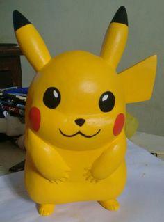 Pikachu em biscuit!